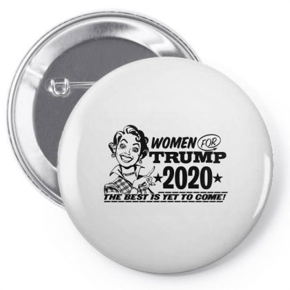 Women For Trump 2020 Face Mask Pin-back Button Designed By Tiococacola
