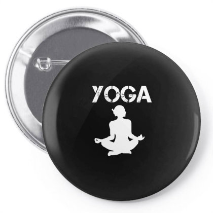 Yoga Teacher -  I Love Yoga Funny Gift - Funny Gift Idea For Yoga Love Pin-back Button Designed By Cuser4067