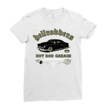 Hellroders Ladies Fitted T-shirt Designed By Samkal