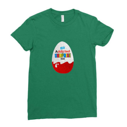 Delicious Schokobons Kinder Candy Ladies Fitted T-shirt Designed By Laravirna
