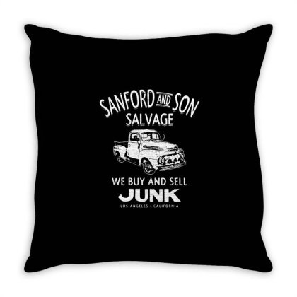 Sanford And Son Salvage Throw Pillow Designed By Treidka