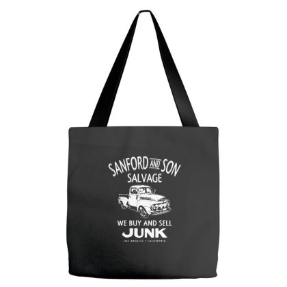 Sanford And Son Salvage Tote Bags Designed By Treidka