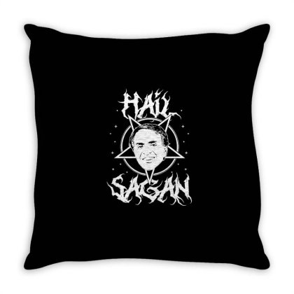 Hail Sagan Throw Pillow Designed By Treidka