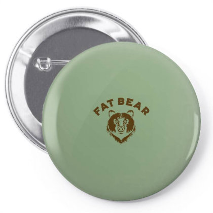 Protect Fat Bears Pin-back Button Designed By Laravirna