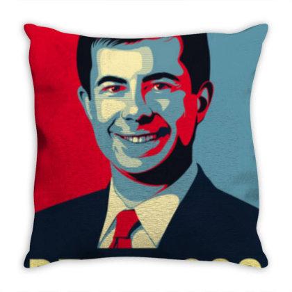 Pete Buttigieg For 2020 Throw Pillow Designed By Laravirna