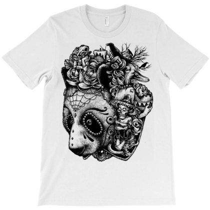 Day Of The Panda T-shirt Designed By Glitchygorilla