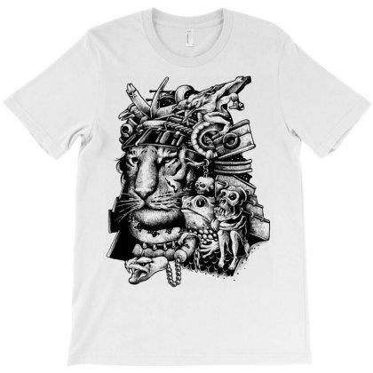 Samurai Tiger T-shirt Designed By Glitchygorilla