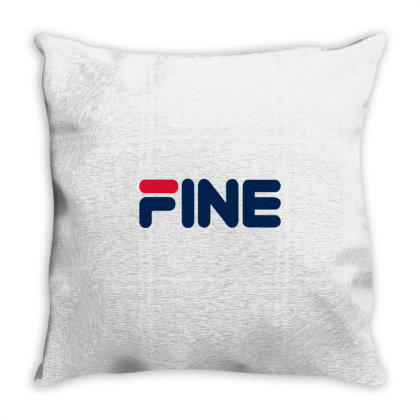 Fine Throw Pillow Designed By Marci