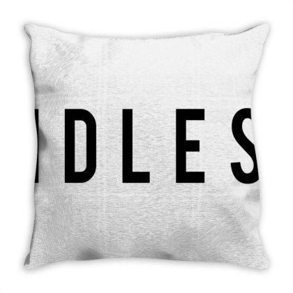Idles Throw Pillow Designed By Sari