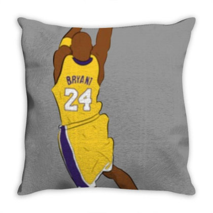 Mamba Black Throw Pillow Designed By Sari