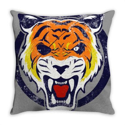 Roar Lion Throw Pillow Designed By Sari