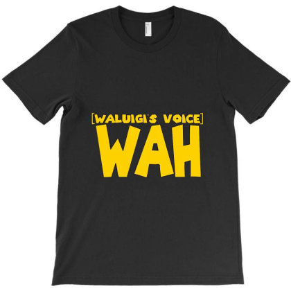 Waluigi Voice T-shirt Designed By Sari