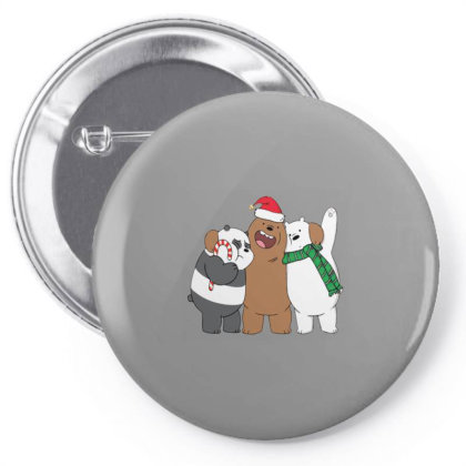 We Bare Christmas Pin-back Button Designed By Sari
