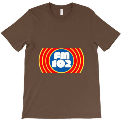 105 Wqsb Radio T-shirt Designed By Sari