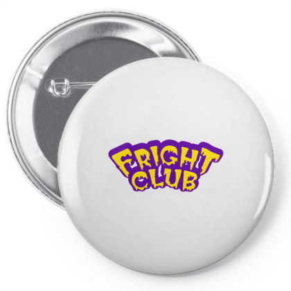 Fright Club Scary Pin-back Button Designed By Sari