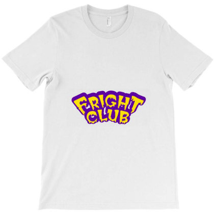 Fright Club Scary T-shirt Designed By Sari
