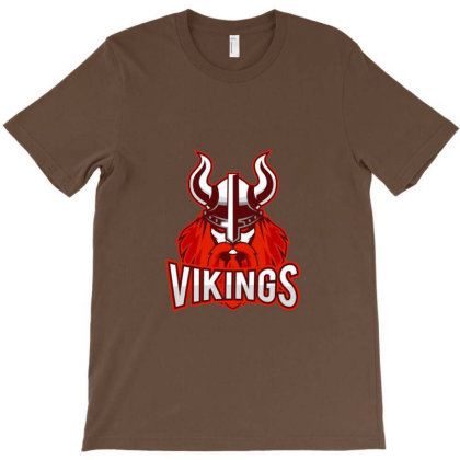Vikings Merchandise T-shirt Designed By Sari