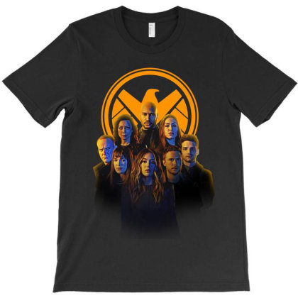 Agents Of S.h.i.e.l.d T-shirt Designed By Mio901215