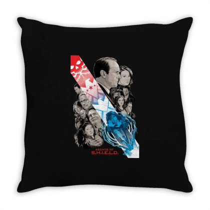 Agents Of S.h.i.e.l.d Throw Pillow Designed By Mio901215