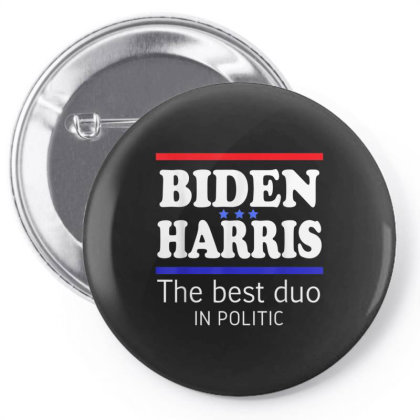 Biden Harris 2020 The Best Duo In Politic Pin-back Button Designed By Kakashop