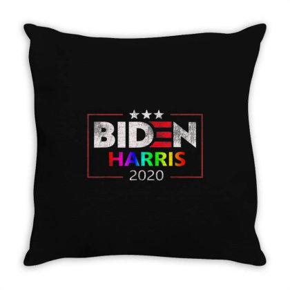 Gays For Biden Harris 2020 Throw Pillow Designed By Kakashop