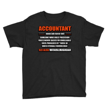 Accountant Noun Youth Tee Designed By Bettercallsaul