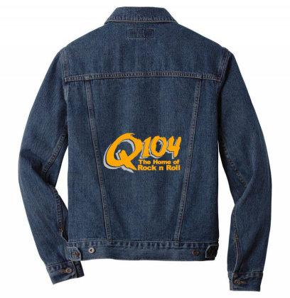 Long Island Rocks Q104 3 Men Denim Jacket Designed By Vidi Almano