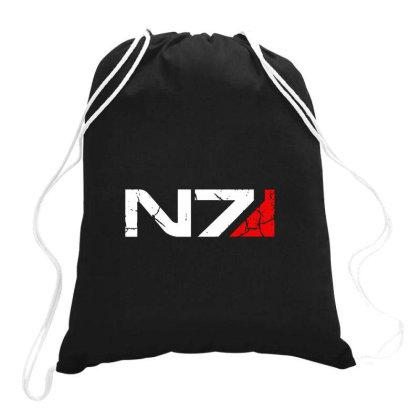 Mass Effect N7 Drawstring Bags Designed By Verolvori