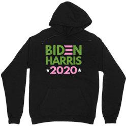 biden harris 2020 pink green democrat Unisex Hoodie   Artistshot