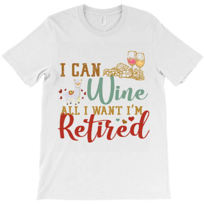 I Can Wine All I Want I'm Tired Retro Vintage Llama T-shirt Designed By Vip.pro123