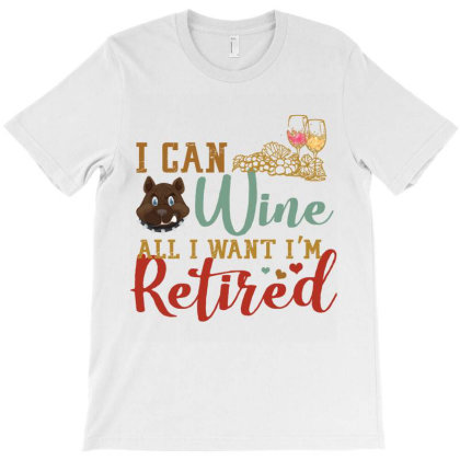 I Can Wine All I Want I'm Tired Retro Vintage Pitbull T-shirt Designed By Vip.pro123