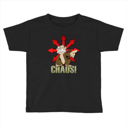 Chaos Logo Toddler T-shirt Designed By Frado47