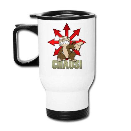 Chaos Logo Travel Mug Designed By Frado47