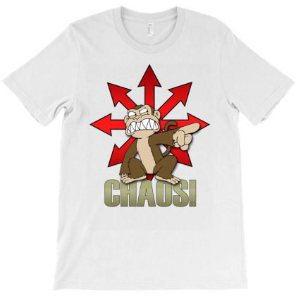 Chaos Logo T-shirt Designed By Frado47