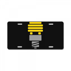 bright idea License Plate | Artistshot