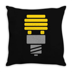 bright idea Throw Pillow | Artistshot
