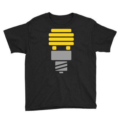 Bright Idea Youth Tee Designed By Anma4547