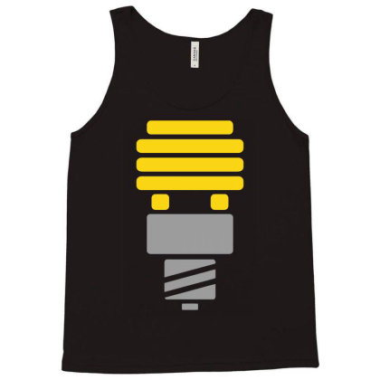 Bright Idea Tank Top Designed By Anma4547