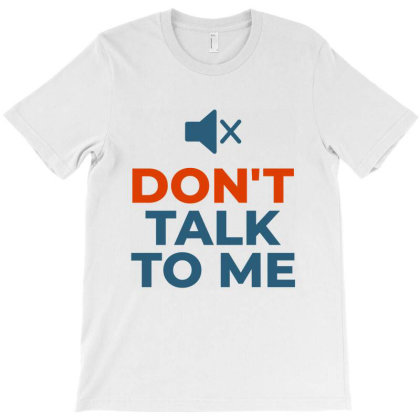 Talk Speak Me Silence T-shirt Designed By Designisfun