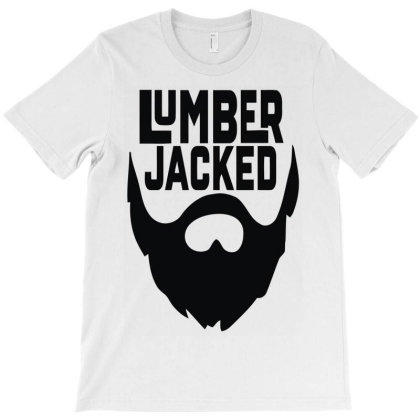 Lumber Jacked T-shirt Designed By Enjang