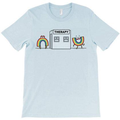 Rainbow Therapy! T-shirt Designed By Raffiti