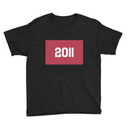 2011 Shirt, Man's / Women's Black Shirt, Printed Tee, Fashion Top... Youth Tee Designed By Word Power