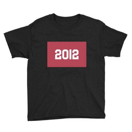 2012 Shirt, Man's / Women's Black Shirt, Printed Tee, Fashion Top... Youth Tee Designed By Word Power