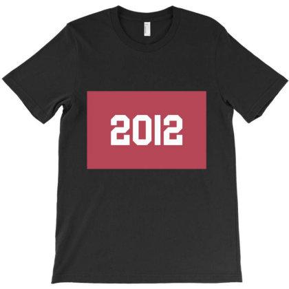 2012 Shirt, Man's / Women's Black Shirt, Printed Tee, Fashion Top... T-shirt Designed By Word Power