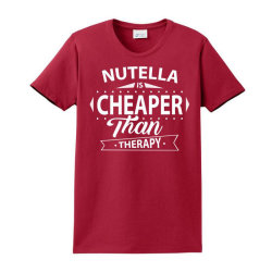 Nutella Is Cheaper Than Therap Ladies Classic T-shirt Designed By Sabriacar