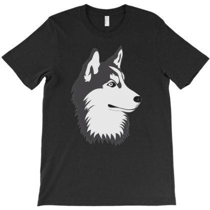 Husky  Dog T-shirt Designed By Emardesign