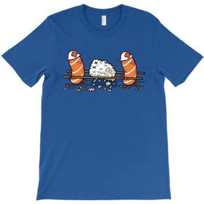 Injured Rice! T-shirt Designed By Raffiti