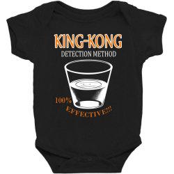 King Kong Detection Baby Bodysuit Designed By Yenzimateki55