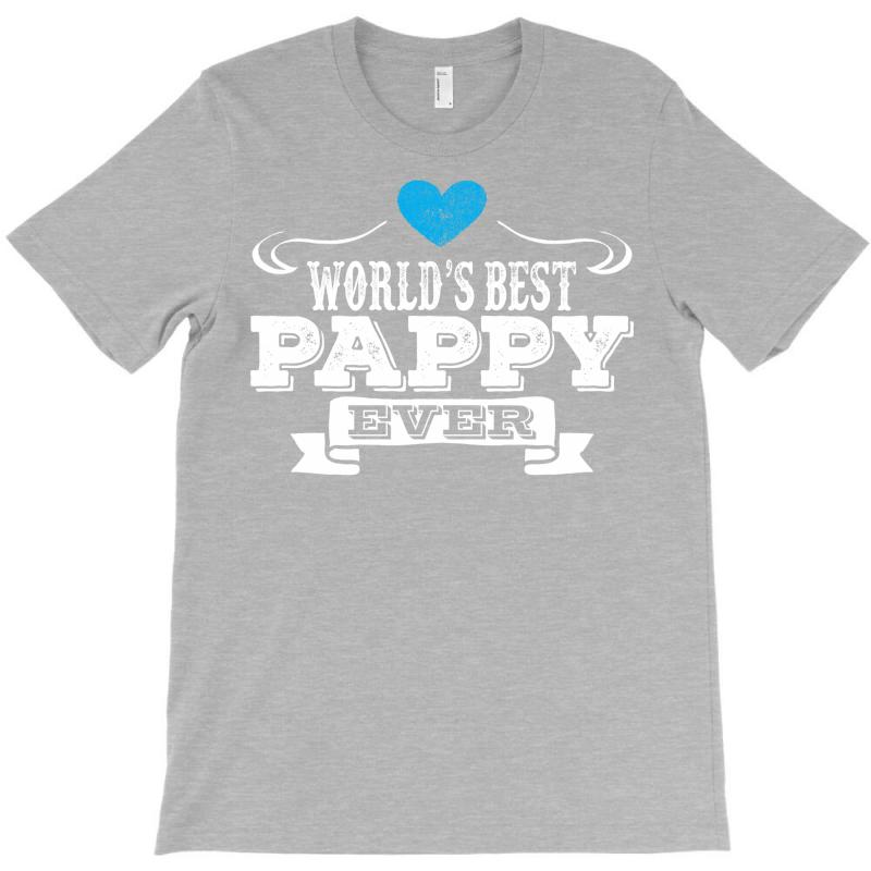 Worlds Best Pappy Ever 1 T-shirt   Artistshot