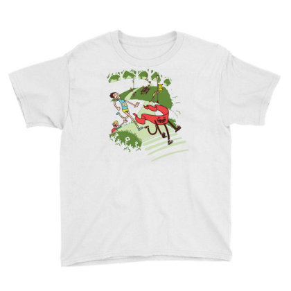 Not Quite Finished Line Youth Tee Designed By Simponie